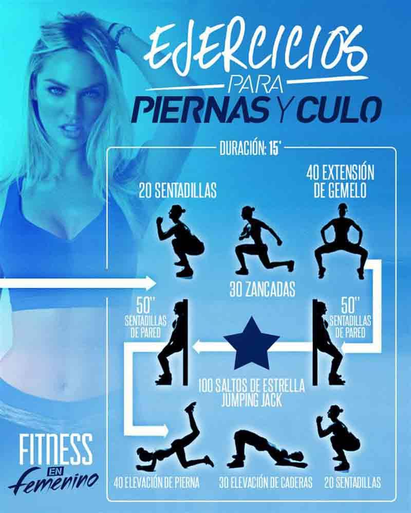 Ejercicios para tonificar piernas y gl teos fitness en for Ejercicios de gym
