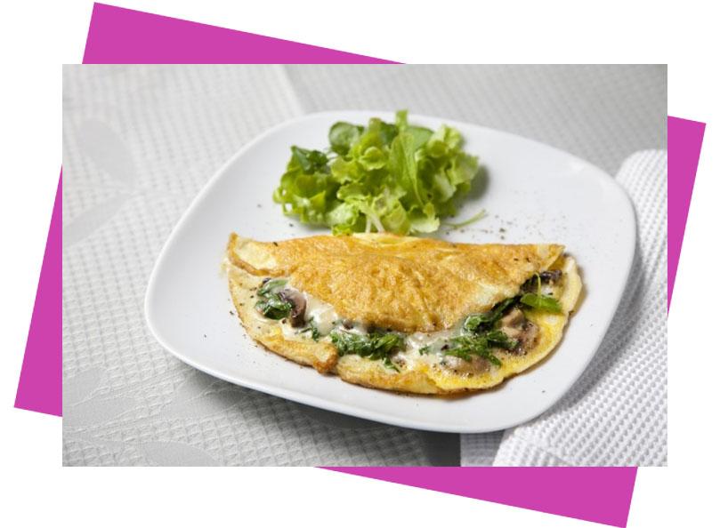 desyuno fitness-tortilla
