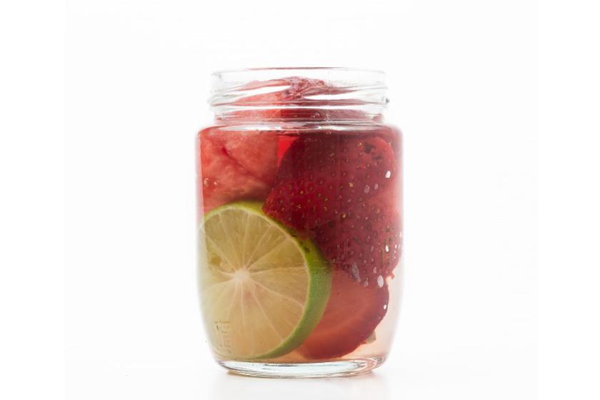 Infusiones de frutas: Fresa, limón y sandía
