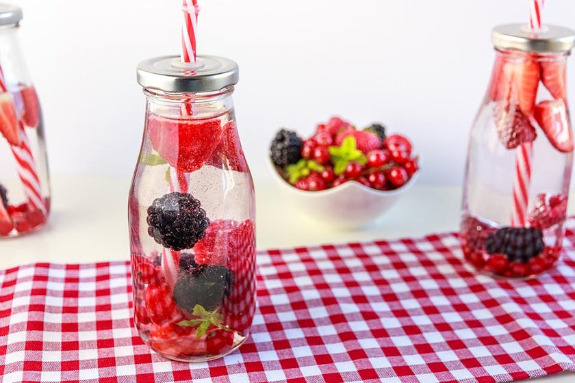 Infusiones de frutas: Fresa, mora y frambuesa