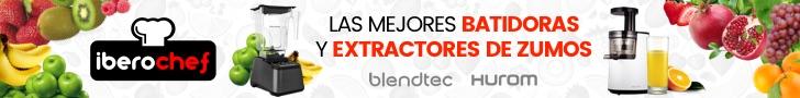 Licuadoras, batidoras y extractores Hurom y Blendtec