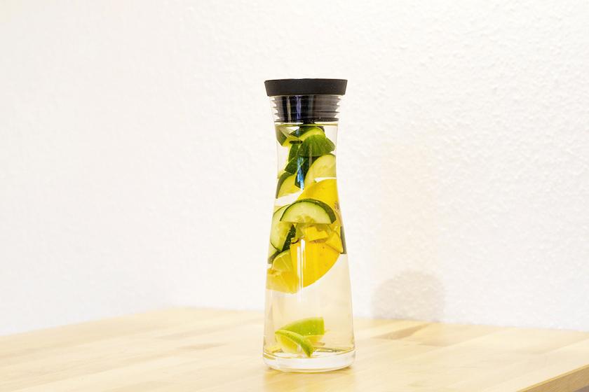 Infusiones de frutas: Pepino y limón