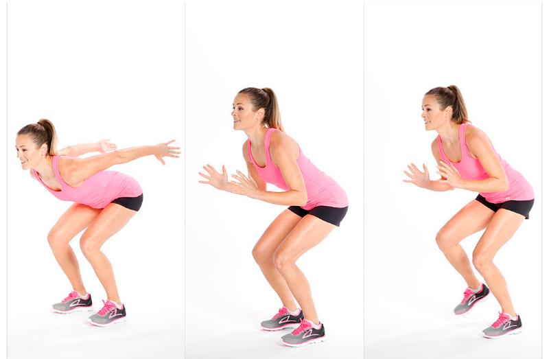 Salto longitud y movimiento lateral