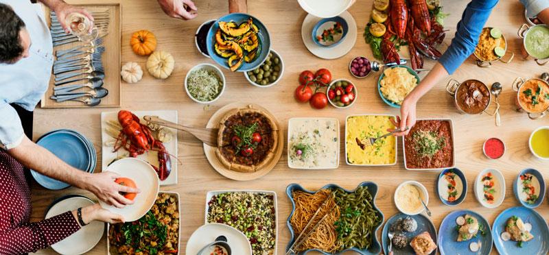 Variedad comida