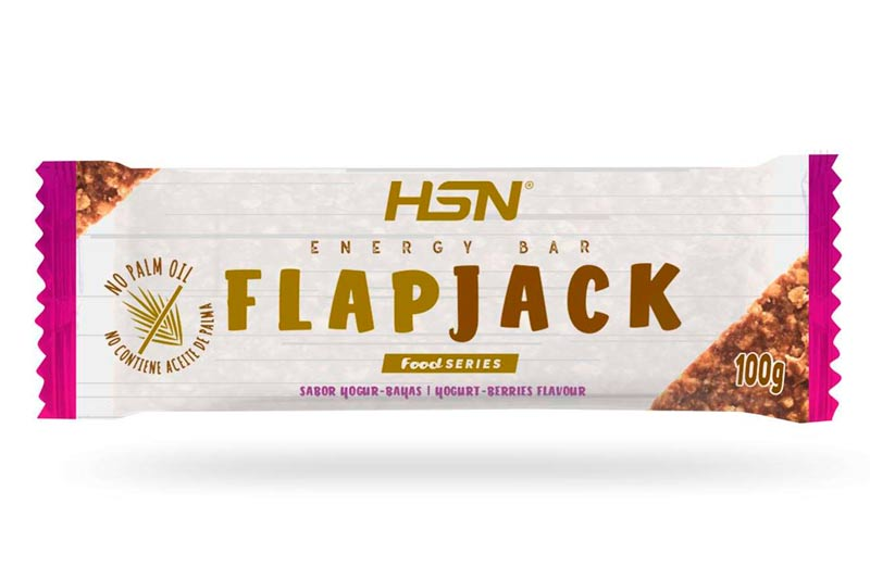 Barritas energéticas HSN flapjack