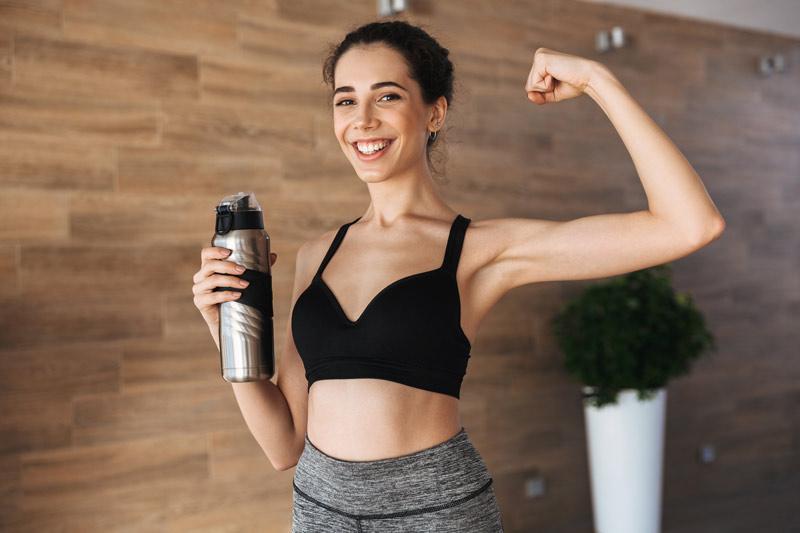 cantidad de proteinas dirarias para aumentar masa muscular mujer