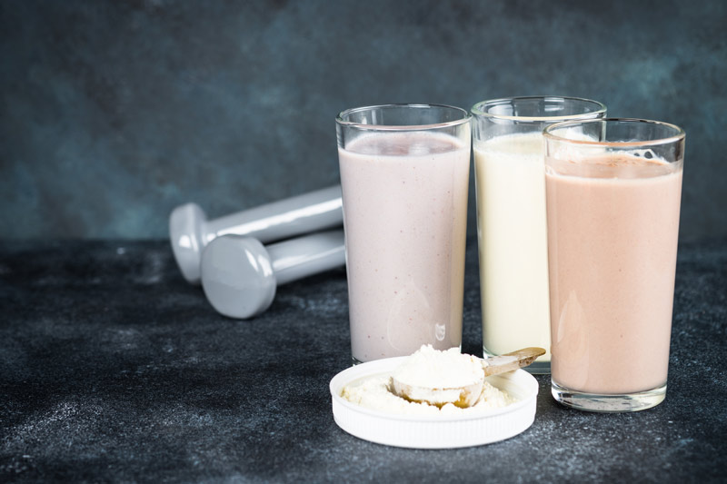 cantidad de proteinas diarias para aumentar masa muscular batidos