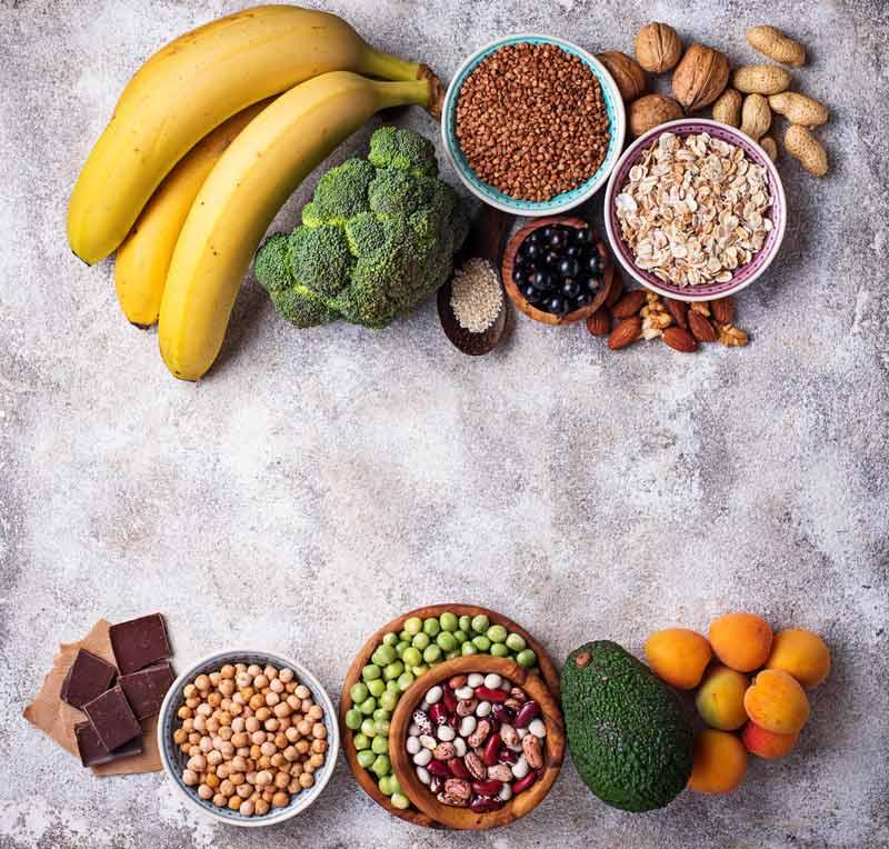 Beneficios del magnesio comida