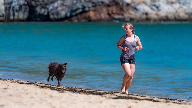 correr-por-la-playa-chica-perro