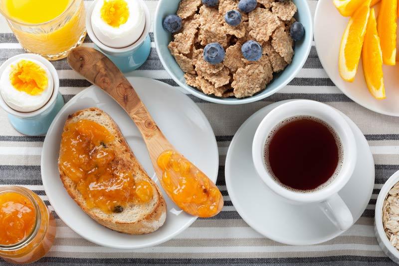 Desayuno sano y equilibrado portada