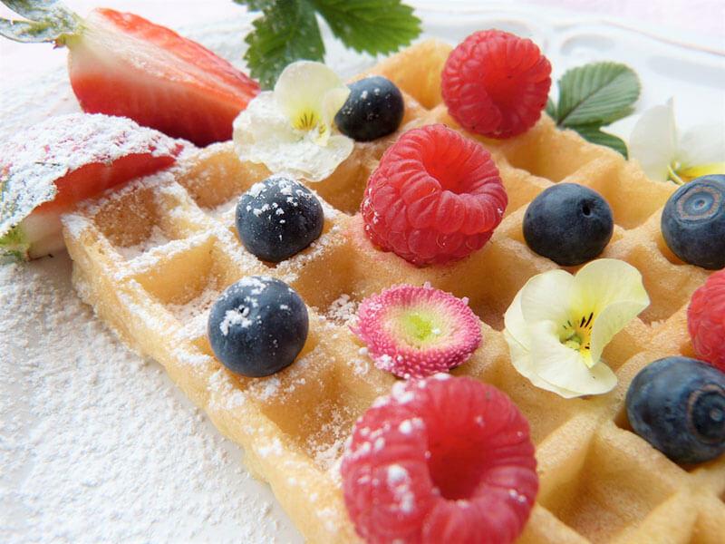 dieta-detox-1-dia-gofre-frutas-del-bosque