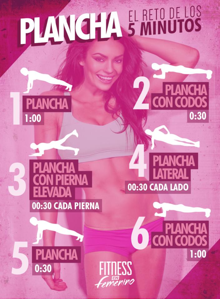 ejercicios plancha