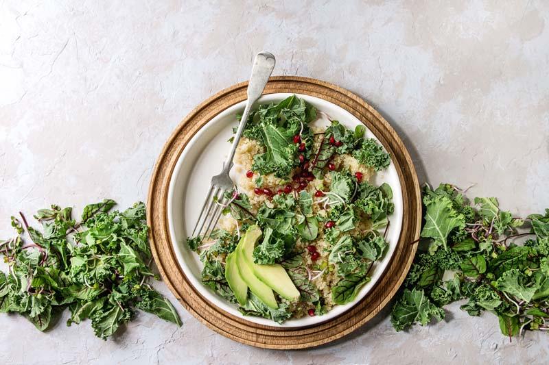 recetas veganas fáciles y ricas ensalada de quinoa