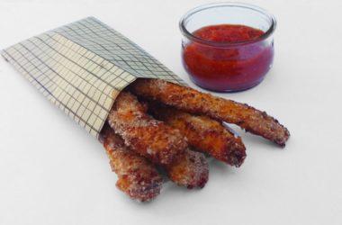 Fingers de pollo para tu dieta fitness