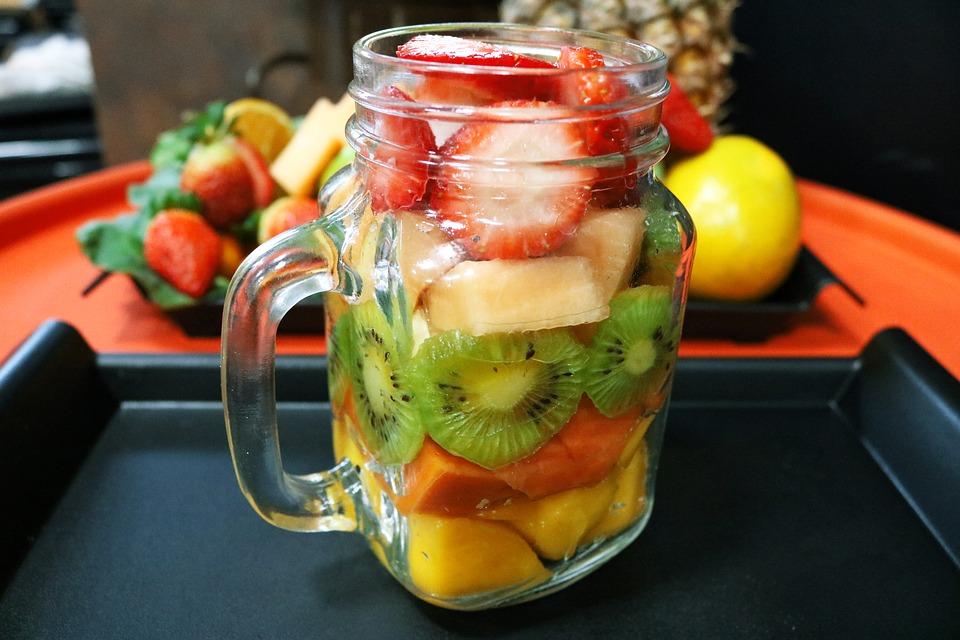 Ensaladas de verano de fruta y cítricos
