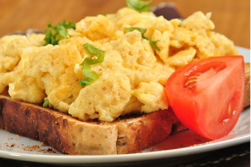 huevos revueltos-proteina