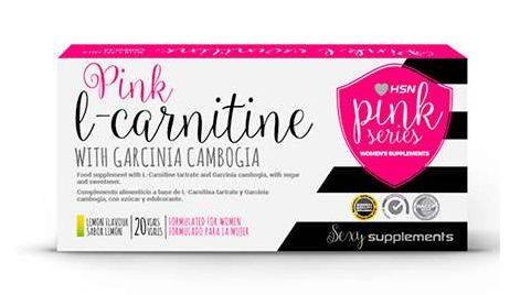 L-Carnitina de HSN Pink Series para quemar grasa