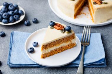 recetas veganas fáciles y ricas tarta de zanahoria